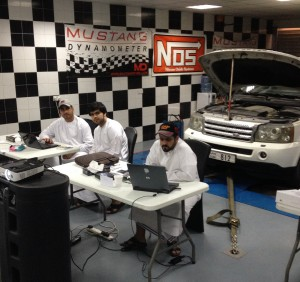 car tuning training dubai